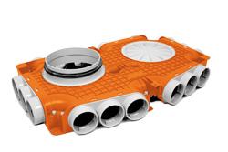 Hoofdverdeelbox 63 180mm